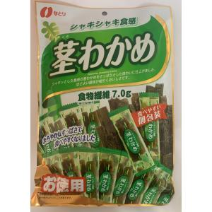 なとり シャキシャキ食感 茎わかめ お徳用 117g|futatsugi