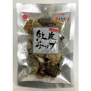 江戸屋 鮭皮チップ 31g|futatsugi
