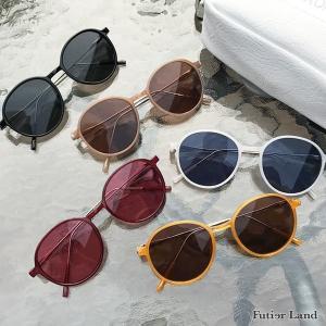 サングラス ボストン カラーフレーム アイウェア ファッション雑貨 アクセサリー ポイント消化 春         スリムフレームサングラス|futier-land
