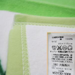 日本製【西川】ベビー綿毛布スヌーピー 85×115cm/フラワースヌーピー|futon-no-doremi|04