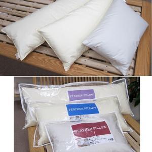 日本製 フェザーピロー 羽根枕 43×120cm /サンモト/ボリューム/ホテルまくら/ロング枕/もっちリ/抱き枕/綿100%/sale/セール|futon-no-doremi|06