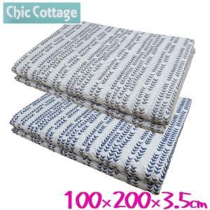 西川リビング 薄型マットレス シングル/100×200×3.5/体圧分散/ChicCottage/プロファイル futon-no-doremi