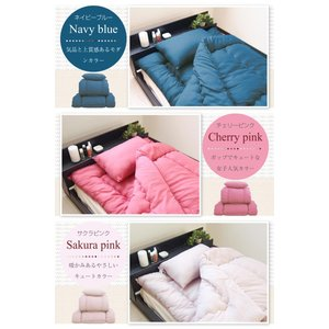 ふとんセット 日本製 洗える ホコリの出にくい 布団3点セット シングル|futon-planner|12