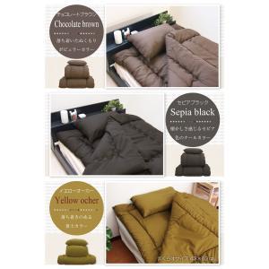 ふとんセット 日本製 洗える ホコリの出にくい 布団3点セット シングル|futon-planner|14