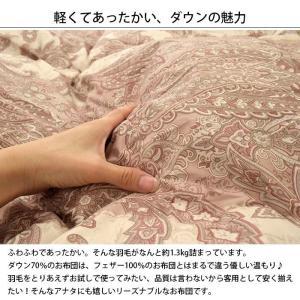 【最大ポイント17倍】 羽毛布団 シングル 日...の詳細画像1