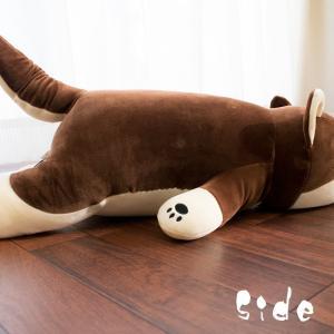 豆柴クッション 柴犬 ぬいぐるみ抱き枕 全長約...の詳細画像3