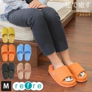 健康スリッパ つぼ押し リフレ 婦人用 23〜25cm Mサイズ futon