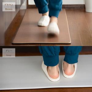 キッチンマット 足腰にやさしい 45×120  マット台所 キッチン用品 撥水|futoncolors|07