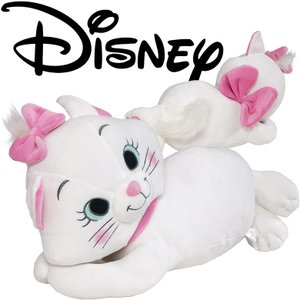ディズニー おしゃれキャット マリー 抱き枕 添い寝枕 約55x30cm  抱きぐるみ 抱きぬいぐるみ ダキマクラ 抱枕 ヌイグルミ|futonhouse
