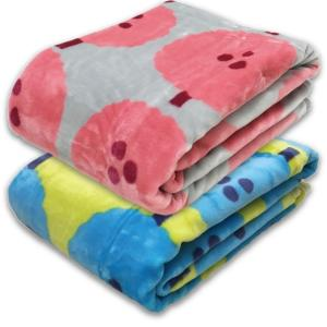 ATSUKO MATANO マタノアツコ アクリルニューマイヤー毛布 木々柄 西川 シングルサイズ:140×200cm カラー:ピンク、ブルー MT8653|futonhouse