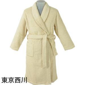 東京西川 女性用バスローブ サイズ:Mサイズ 綿100% レディース 婦人用 日本製|futonhouse