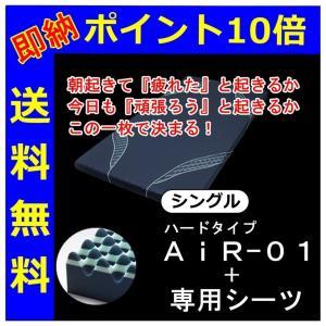 快眠敷ふとんカズを魅了した 西川エアーコンデイショニングマットレスAIR ハード 硬め HARD120N futonkan