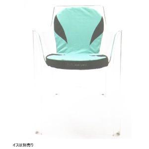 西川 エアー(AiR)クッション ポータブル Curve_L カーブL 背付きクッション|futonlando|02