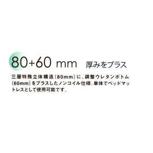 西川 エアー air  シングル/グレー ベーシック100|futonlando|02