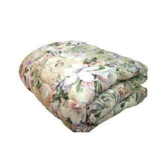 国産 掛け布団 羊毛混 シングル ピンク|futonlando