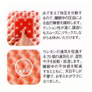 西川 敷布団 健圧敷布団 シングル/ベージュ ソフト100N(日本製)|futonlando|04