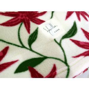 毛布 シングル マイクロファイバー毛布 シビラ・フローレス 軽量 温か ブランケット140×200cm|futonmall