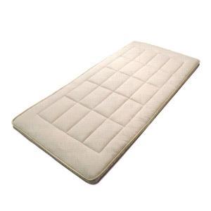 西川 敷布団/ダブル/軽量 羊毛混 しっかりウェーブ スリープコンフィー/SY1510 日本製|futonmall