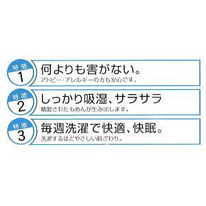 パシーマ サニセーフ ダブル ワイドロング:155×210/きなり|futonmall|02