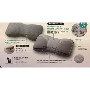 西川リビング ヨコ楽 まくら 横向き寝が多い方におすすめ futonshop-miyakoshi 02