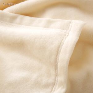 綿毛布 ダブル 西川リビング 日本製 シール織り コットン ブランケット 24+|futontown|05