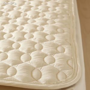ベッドパッド シングル 西川 日本製  洗える 羊毛 ウール|futontown|02