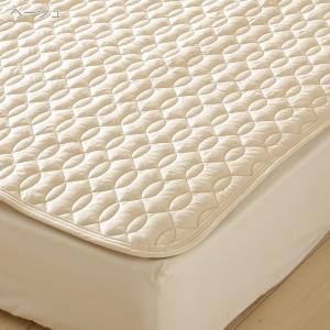 ベッドパッド シングル 西川 日本製  洗える 羊毛 ウール|futontown|05