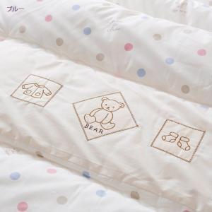 ベビー布団 西川 ベビー布団セット 日本製 6点 赤ちゃん 綿100%ベビー|futontown|03