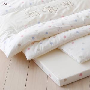 ベビー布団 西川 ベビー布団セット 日本製 6点 赤ちゃん 綿100%ベビー|futontown|06