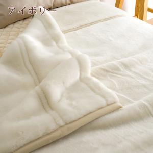 毛布 セミダブル 2枚合わせ ブランケット 西川 日本製 アクリル毛布セミダブル|futontown|05