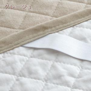 敷きパッド ダブル 西川 コットン 綿100% 綿マイヤー 敷パッド ロングシーズン 春 秋 冬 ベッドパッド 西川リビング|futontown|05