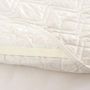 東京西川 西川産業 ウォッシャブル コットンベッドパッド クイーン 詰め物綿100% 洗えるベッドパッドクィーン|futontown|05