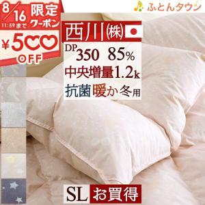 ◆商品名:羽毛布団 シングル 掛け布団 西川 ダウン90% 1.2kg ◆商品お問合せ番号:7471...