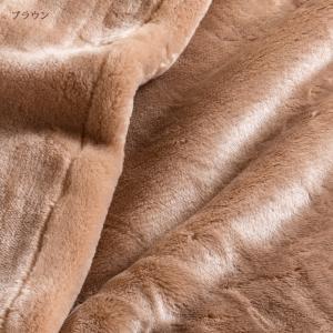 毛布 2枚合わせ ダブル 日本製 西川 アクリル毛布 Dサイズ 厚手 あったか futontown 06