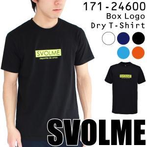特価 スボルメ Tシャツ ボックスロゴDRYTシャツ 171-24600