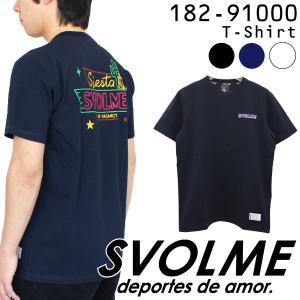 特価 スボルメ ネオンロゴTシャツ 182-91000