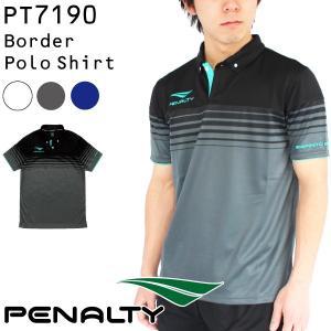 ペナルティ ポロシャツ ボーダーポロシャツ PT7190...