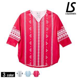 LUZeSOMBRAのトライバルワン7スリーブゲームシャツ!!    ルースオリジナルライン LUZ...
