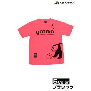 gramoのプラシャツ!!  パンダが大きくプリントされた、シンプルながらインパクトのあるプラTシャ...