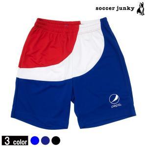 Soccerjunkyの pepsi×soccer junky プラクティスパンツ !!  サッカー...