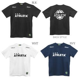 ATHLETA_アスレタ 定番ロゴTシャツ 03015M|futsalshoproda
