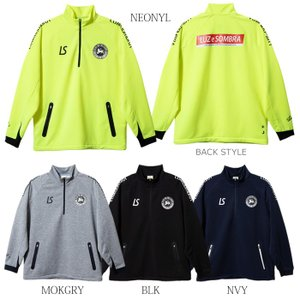 (割引セール 20%OFF)LUZ e SOMBRA_ルースイソンブラ スウェット P100 ACTIVE SWEAT CAM HALFZIP TOP F1911128|futsalshoproda