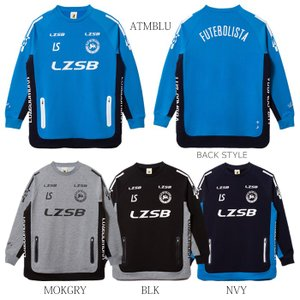 LUZeSOMBRA_ルースイソンブラ スウェット P100 STRETCH SWEAT CREW TOP F2011110|futsalshoproda