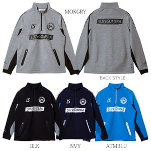 LUZeSOMBRA_ルースイソンブラ スウェット P100 STRETCH SWEAT HALF ZIP TOP F2011112|futsalshoproda