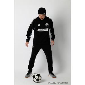LUZeSOMBRA_ルースイソンブラ スウェット P100 STRETCH SWEAT HALF ZIP TOP F2011112|futsalshoproda|02