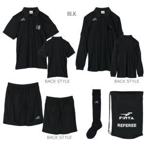 (送料無料!)FINTA フィンタ レフリー5点セット BLK(フットサル ft6511)|futsalshoproda