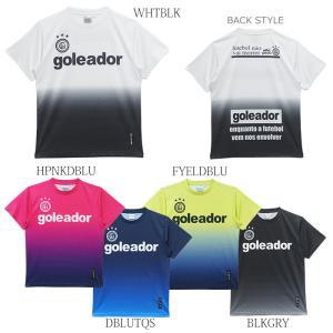 goleador_ゴレアドール 昇華グラデーションプリントBasicプラTシャツ G-440-1|futsalshoproda