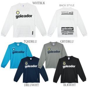 goleador_ゴレアドール 長袖プラシャツ BasicロングスリーブプラTシャツ G-583 futsalshoproda