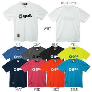 gol._ゴル プラTシャツ BASIC DRY SHIRT g892-680|futsalshoproda