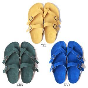 (送料無料!)LUZ e SOMBRA ルースイソンブラ サンダル RIO(Suede sandal)|futsalshoproda